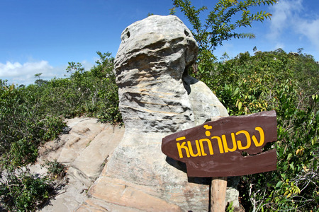 pa: Rock at Pa Hin Ngam National Park, Chaiyaphum ,Thailand