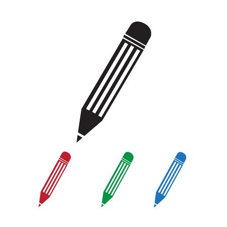 secretarial: Pencil Icon Illustration