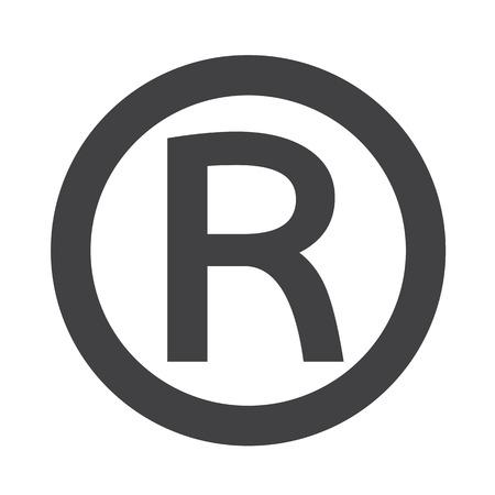 Icône de marque déposée Banque d'images - 46111050