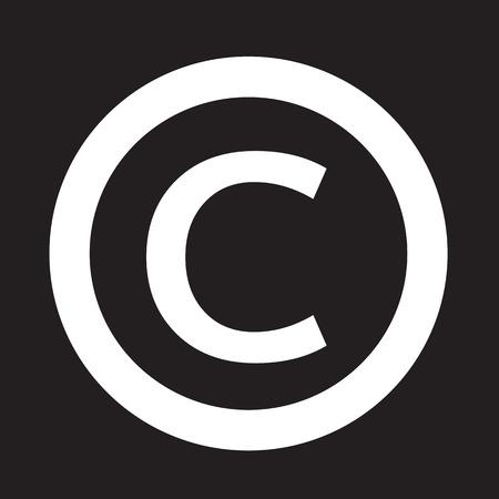 duplication: copyright symbol icon