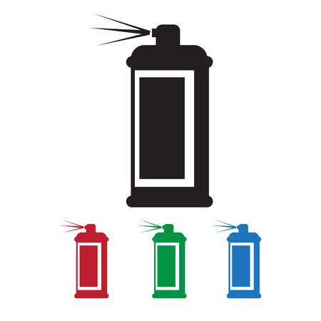hairspray: Spray icon Vectores
