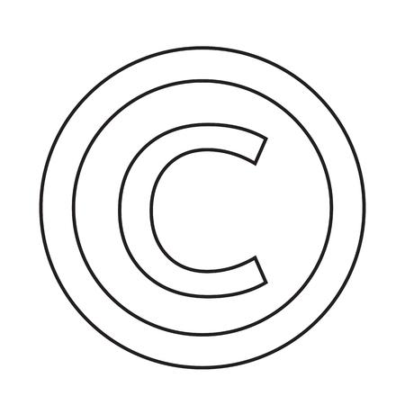 unauthorized: copyright symbol icon