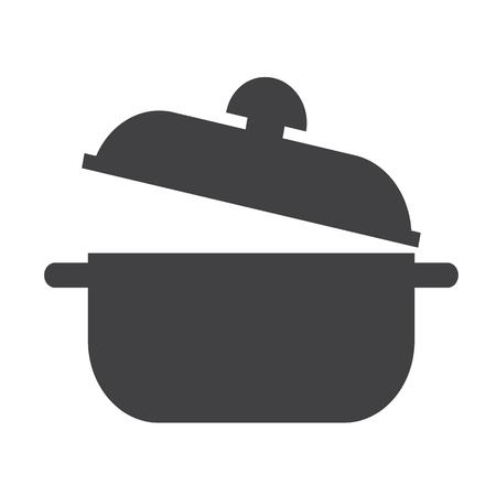 saucepan: saucepan icon