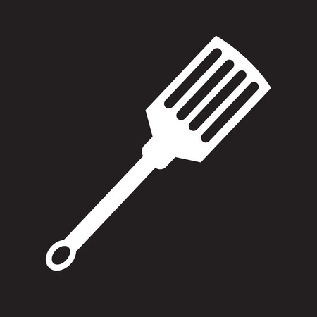 ease: kitchen spatula icon Illustration