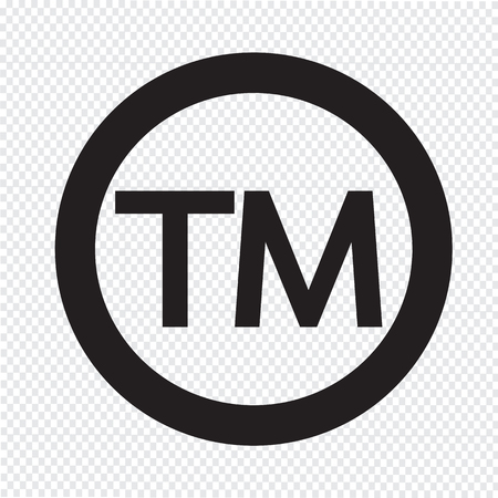 at symbol: Simbolo di marchio Icona