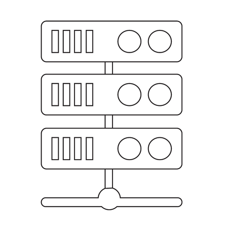 ip: Computer Server Icon