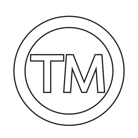 trademark: Trademark Symbol Icon