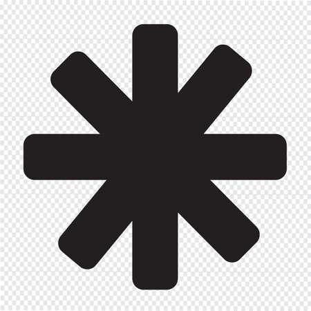 별: star icon 일러스트