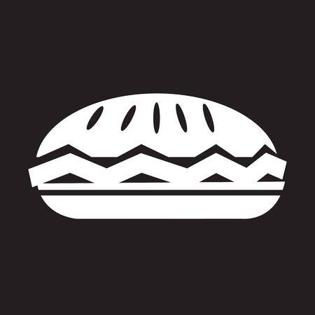 blueberry pie: food pie icon