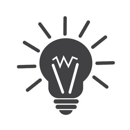 idea icon: light idea icon