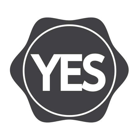 yes button: Yes button icon