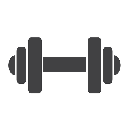 hand lifting weight: Dumbbell icon