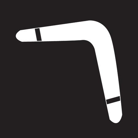 wooden boomerang: Boomerang icon