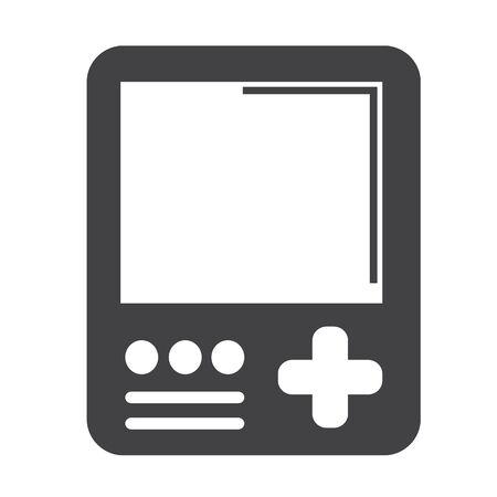 handheld: Handheld game console icon Illustration