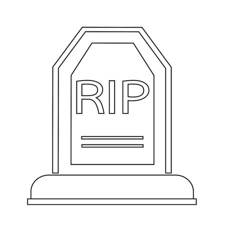 churchyard: Grave Icon