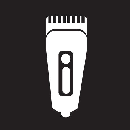 rasoio: Shaver icona simbolo hairclipper Vettoriali