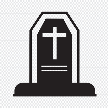 rest in peace: halloween grave icon