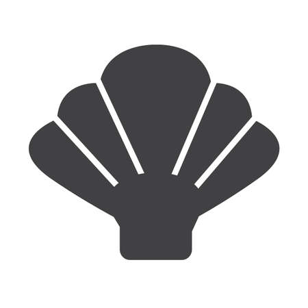 scallops: Shell icon