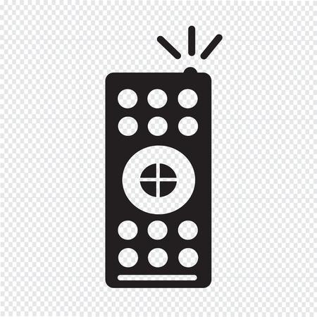 remote: tv remote control icon Illustration