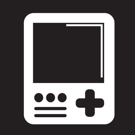 handheld device: Handheld game console icon Illustration