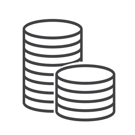 salaries: money icon