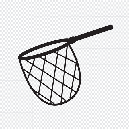 fisheries: fishing hunting net icon