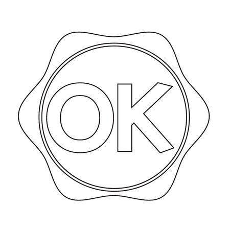 OK button Illustration