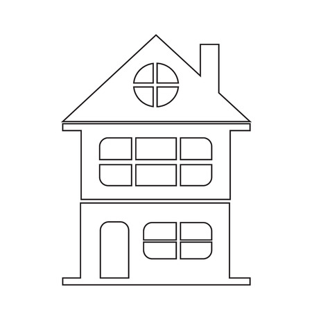 habitation: real estate icon