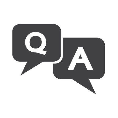 query: Question answer icon
