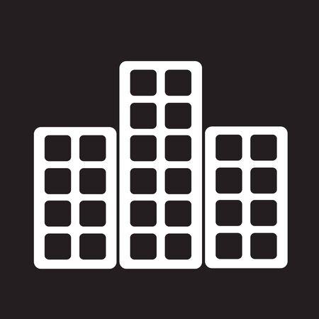 estate: Real estate icon Illustration