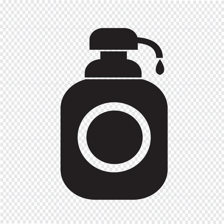 dispenser: Shower Gel, Liquid Soap Dispenser Icon