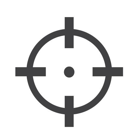 Doelpictogram teken Illustratie