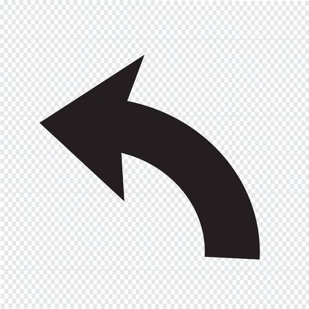 undo: Undo Icon sign Illustration Illustration