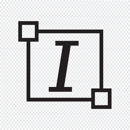 italic: Italic Text font edit letter icon