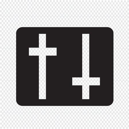 settings icon: settings icon sign Illustration