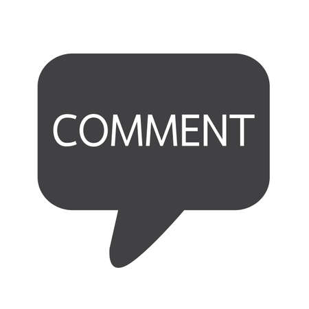 comments: comments icon sign Illustration Illustration