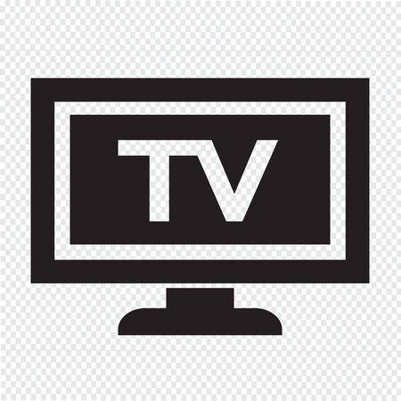 Tv icône illustration de conception Banque d'images - 48328512