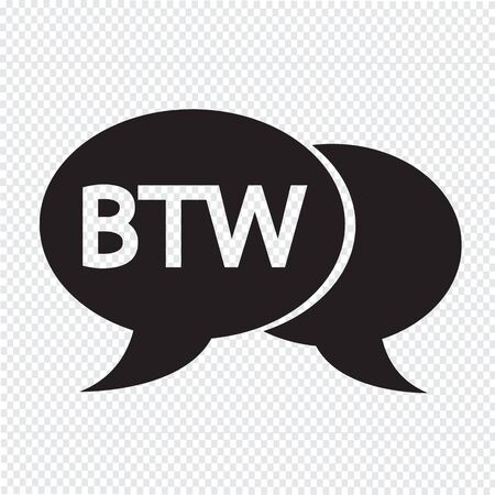 acronym: internet acronym chat bubble illustration