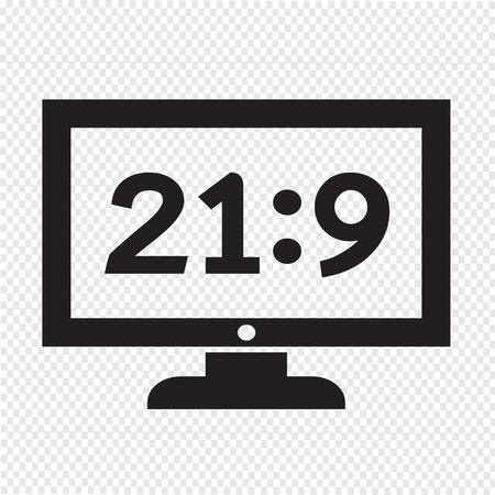 Tv icône illustration de conception Banque d'images - 48329119