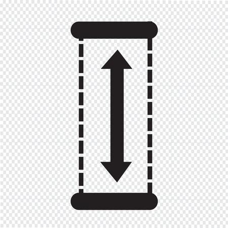 height: Height Icon design Illustration Illustration