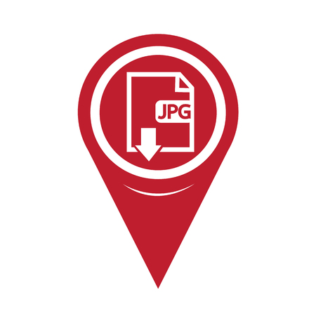 uncompressed: Map Pin Pointer File type JPG icon