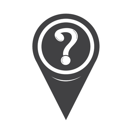 issue: Map Pin Pointer Question mark icon