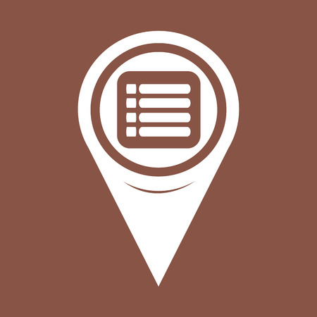 expand: Map Pin Pointer expand menu icon