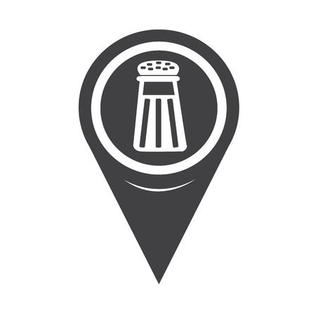 pepper grinder: Map Pointer pepper shaker icon