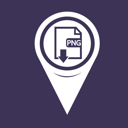 Map Pin Pointer File type PNG icon