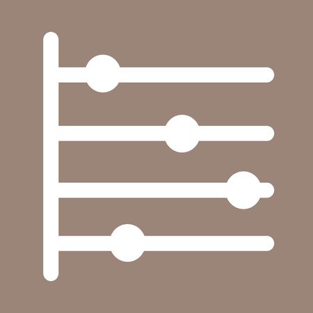 decade: Timeline icon Illustration Art
