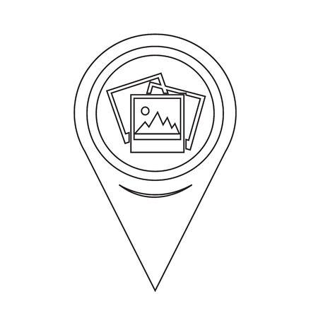 photograph: Map Pin Pointer Photograph Icon