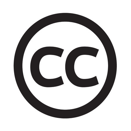 cc: Creativecommons CC Icon Illustration Art