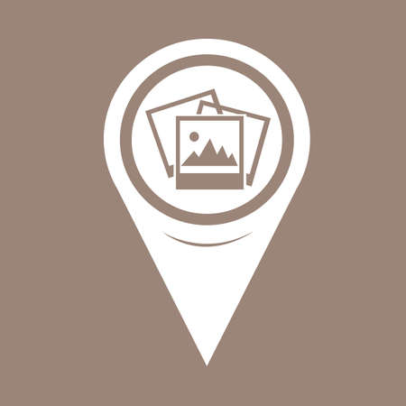 map pin: Map Pin Pointer Photograph Icon