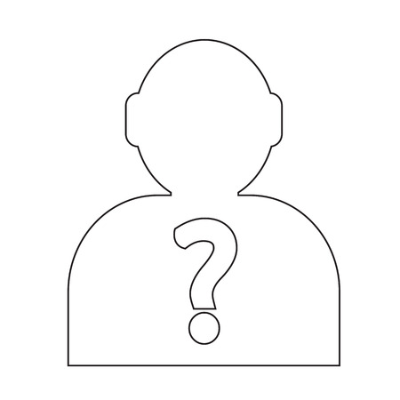 guess: Who Icon Illustration and Vector Art
